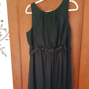 NWT's Lane Bryant Black Sleeveless Dress Size 16